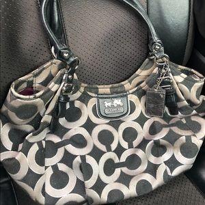 Used Signature Coach purse